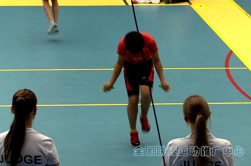 2016年世界跳绳锦标赛-韦杏亲3分钟单摇跳